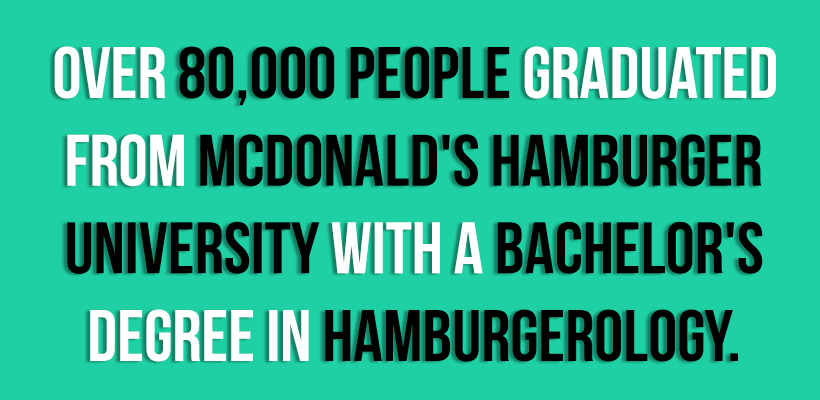 Mcdonald Facts